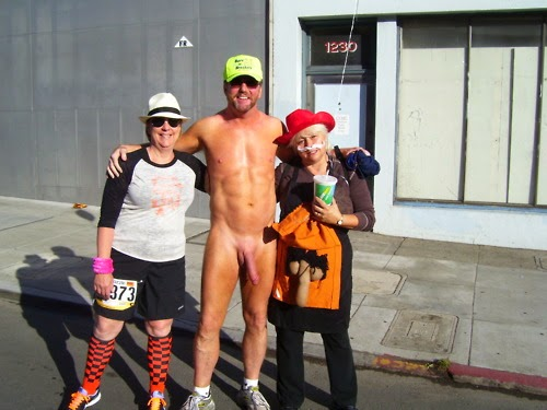 You tell, Cfnm bay to breakers nude pity, that