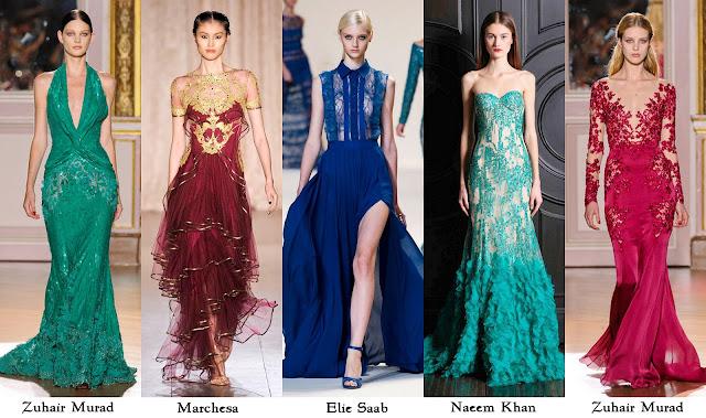 Los mas lindos vestidos de noche