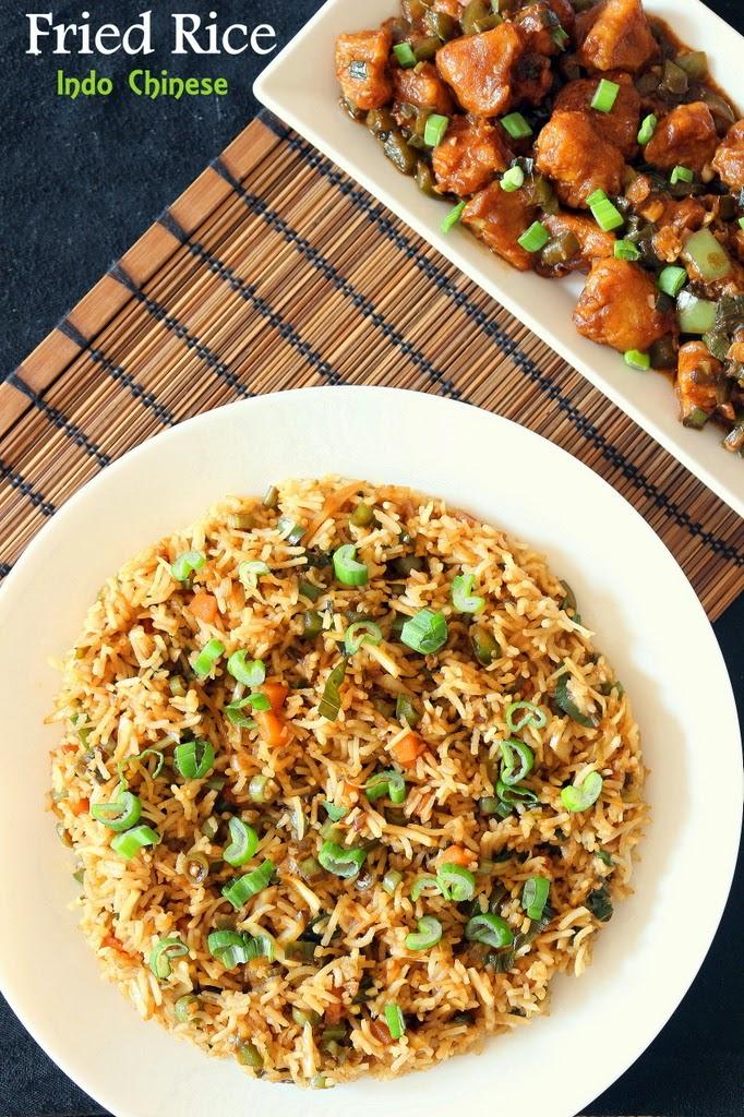 ... Fried Rice | How to Make Vegetable Chinese Fried Rice - VegRecipeWorld