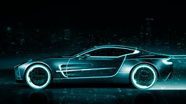 Aston Martin Tron Legacy wallpaper