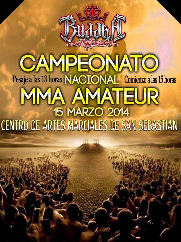 V  CAMPEONATO NACIONAL DE MMA AMATEUR BUDDHA SPORT
