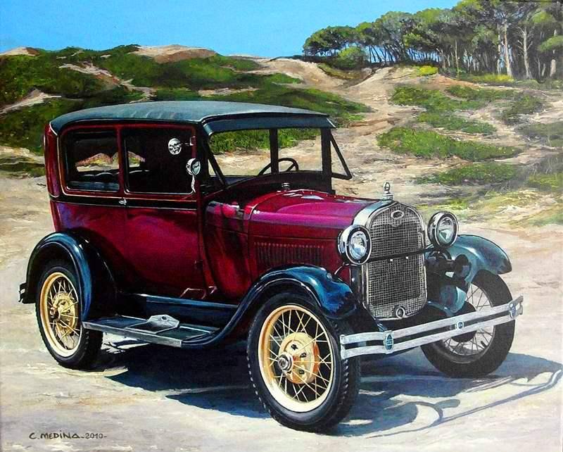 foto carro antiguos: