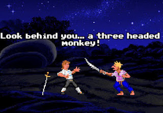 monkey island gameplay