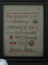 My new  Harvest Cross Stitch Pattern