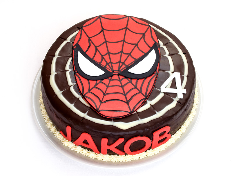 Torta Spiderman / Spiderman cake