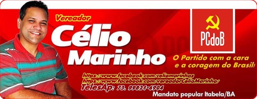 Vereador Célio Marinho