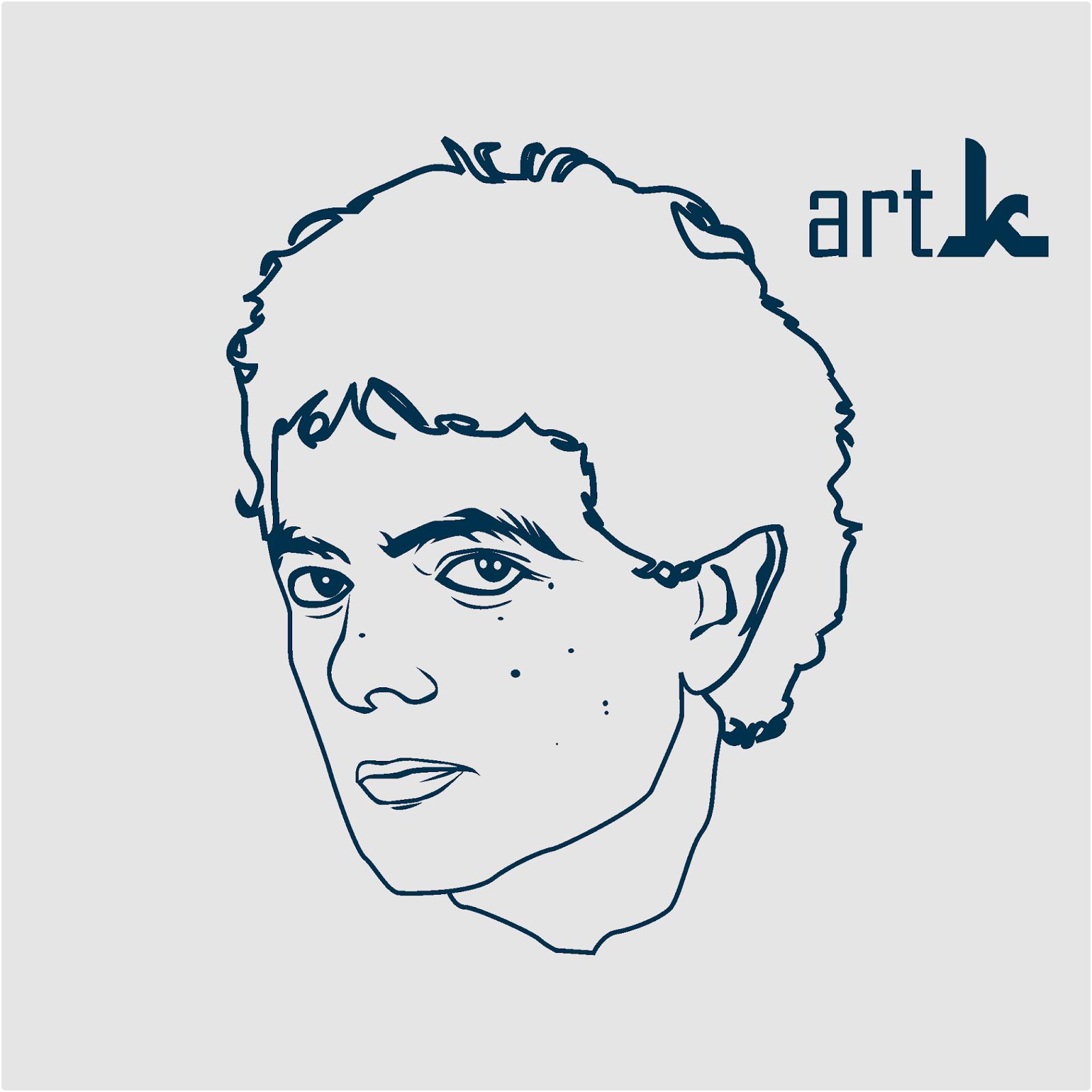 Line Art Wajah : Pesan vector line art pecelcom situs berita dunia