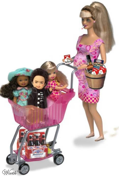 olha a barbie carioca