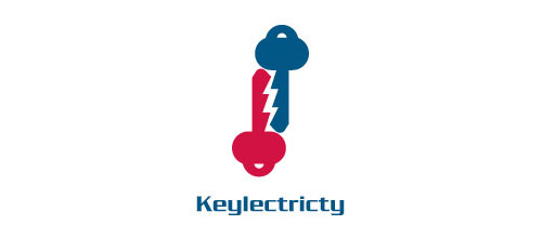 Keylectricity logo design