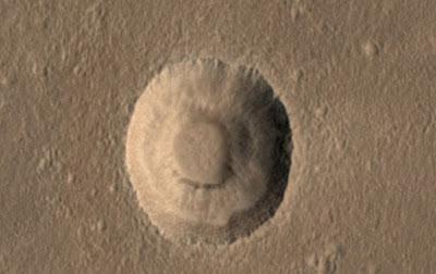 Misteri Alien Plughole di Mars