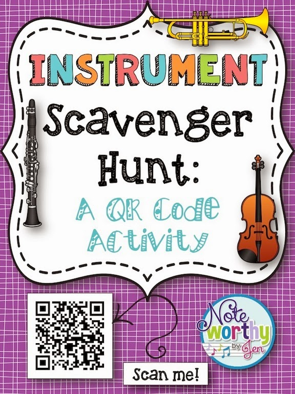 https://www.teacherspayteachers.com/Product/Instrument-Scavenger-Hunt-A-QR-Code-Activity-for-Music-Classes-1708629