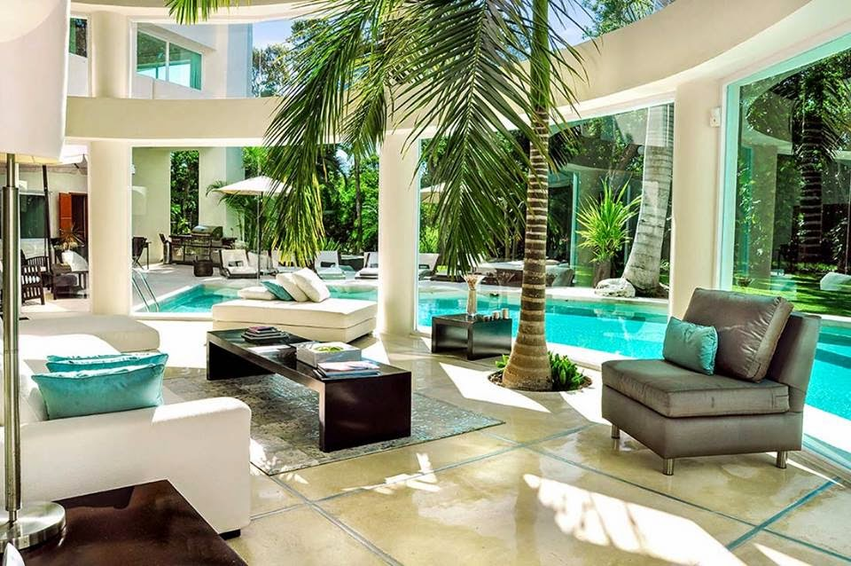 Construindo minha casa clean casa moderna com vidros e for Ambientes casas modernas