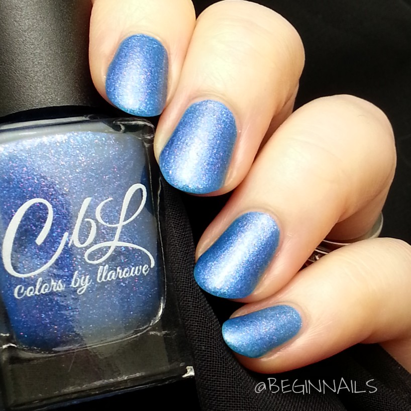 Let\'s Begin Nails: June 2015 A Box Indied Swatch and Review