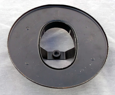 Image of a Solex carburettor to air filter adapter
