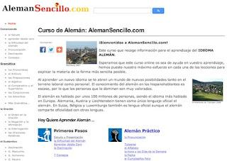 AlemanSencillo.com, curso online y gratuito