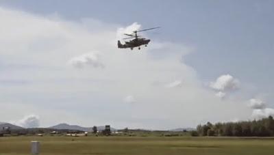 Το Ρωσική στρατιωτικό ελικόπτερα 'Ka-52 Alligator' είναι ότι καλύτερο υπάρχει