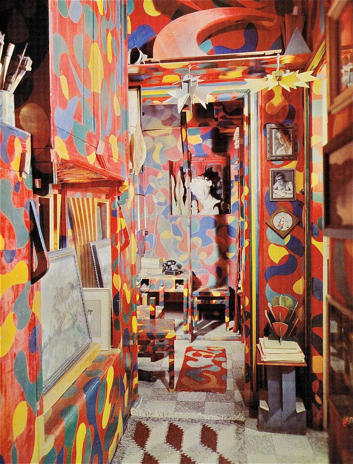 Mondoblogo giacomo balla interior meets google image search for Interior design studio roma