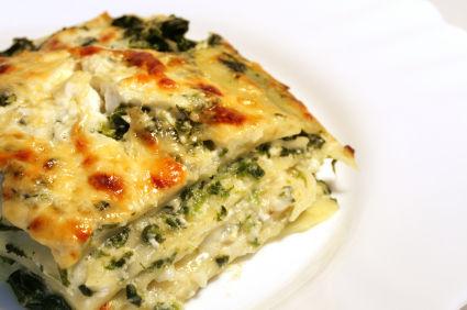 Vegetable lasagna ~ KHANA PENA