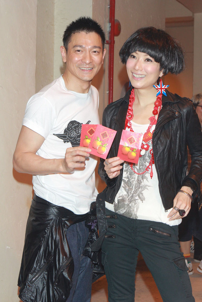Andy Lau teaches Sammi Cheng to hide marriage ~ HOT NEWS ASIAN