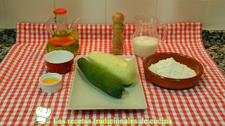 Receta fácil de calabacín rebozado