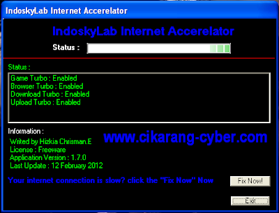 IndoskyLab Internet Accrealator