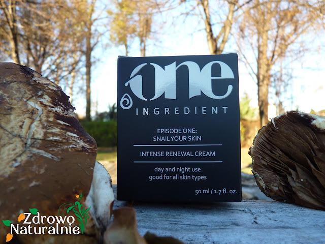 One Ingredient - Intensywny Krem Odnawiający Snail Your Skin