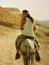 Nån på en åsna nånstans i Egypten