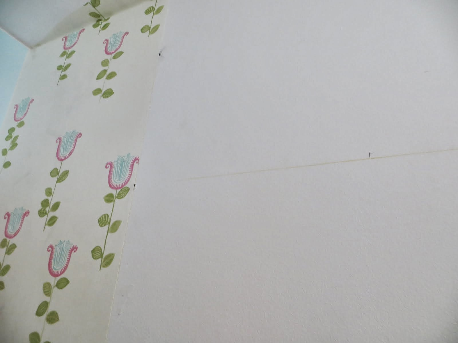 DIY colocar papel mural