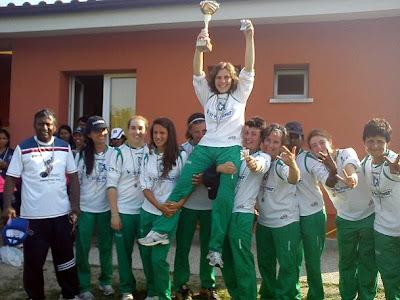 Olimpia Casteller - Campione d'Italia Femminile 2013