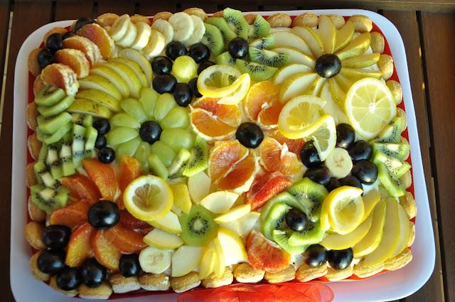 torta alta di frutta