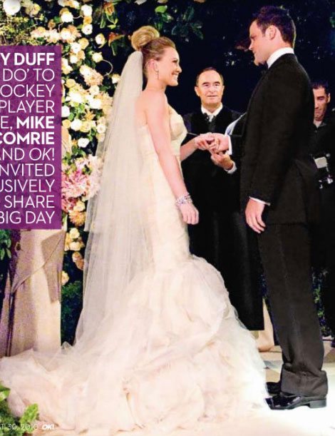 hilary duff wedding pics. hilary duff wedding pictures.