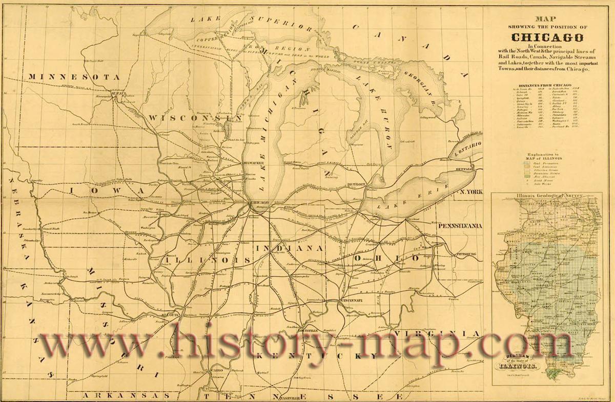 first railroad in 1848