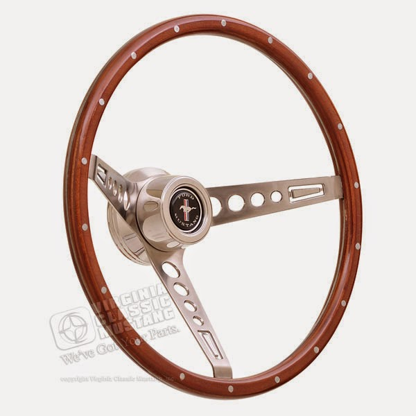 GT Retro Mustang Steering Wheel