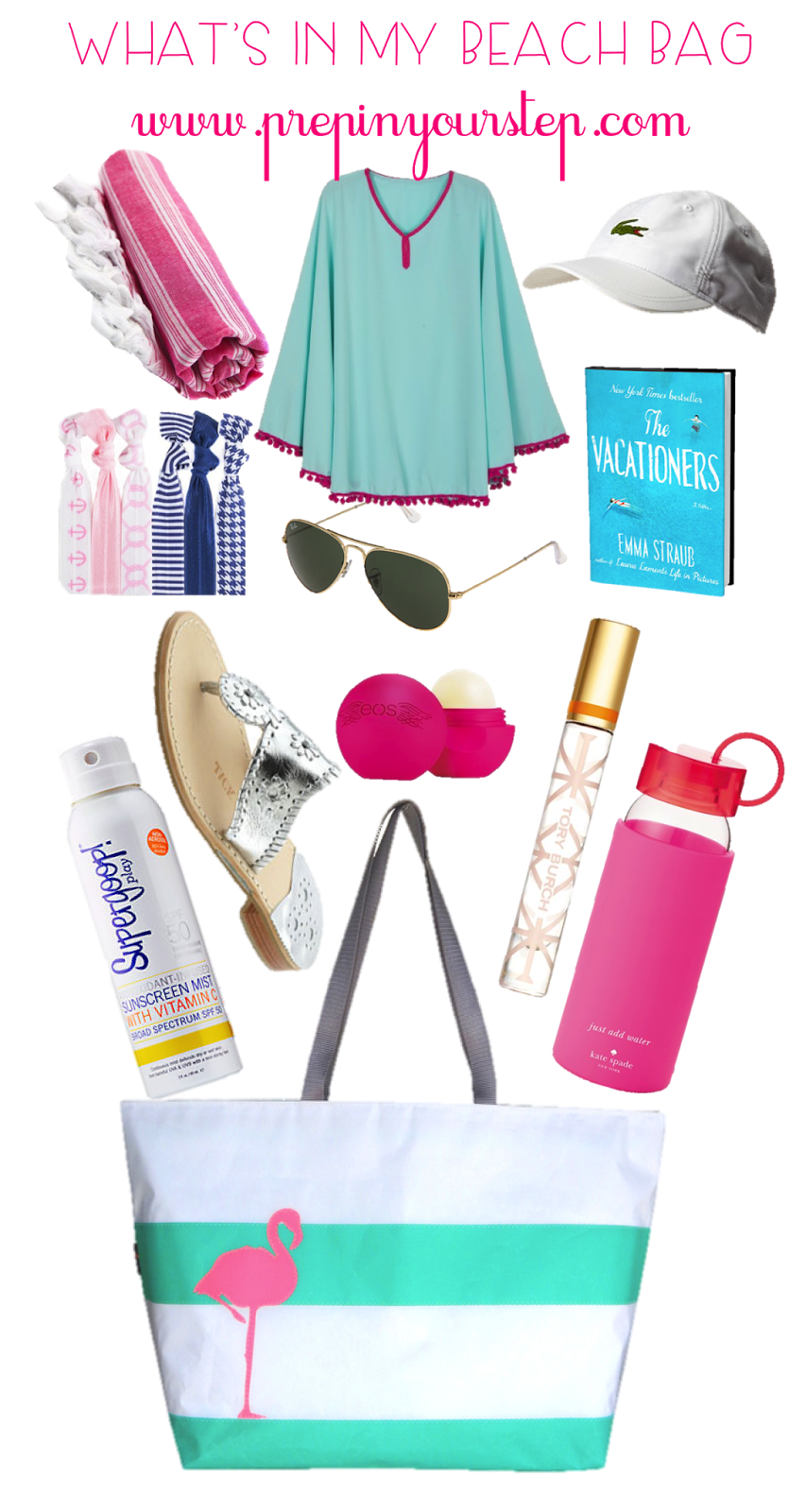 Prep In Your Step: What's In My Beach / Pool Bag