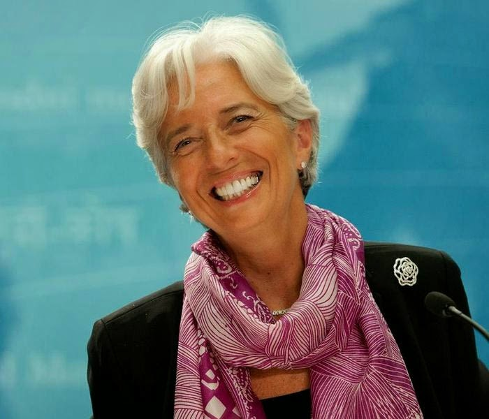 Everything Just So: Christine Lagarde Style