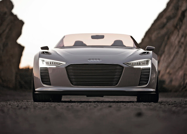 Audi E-tron Spyder HD Wallpaper