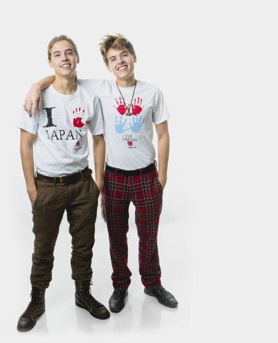 Cole e Dylan_Sprouse: Dylan e Cole Sprouse Koyamada's Foundation
