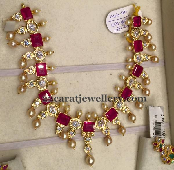 Designs 40 grams gold necklace Gold Haram