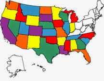 States we have visited in an RV.