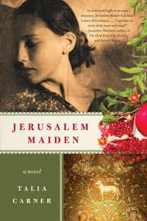 reading, fiction, review, books, Jerusalem Maiden,
