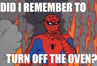 spiderman fire