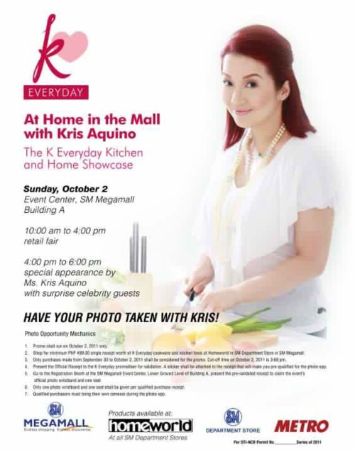kris aquino k everyday kitchen and home collection pskmc