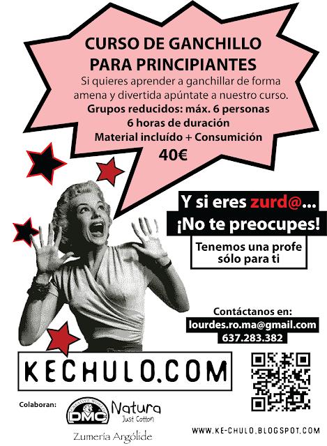 Curso de Ganchillo para principiantes - KeChulo.com