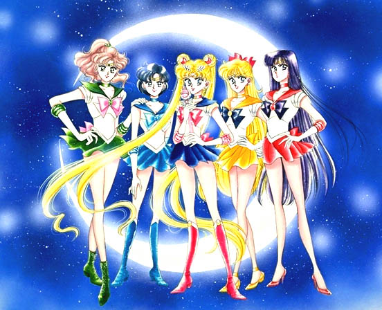 Pretty Guardian Sailor Moon, Pretty Soldier Sailor Moon, Sailor Moon