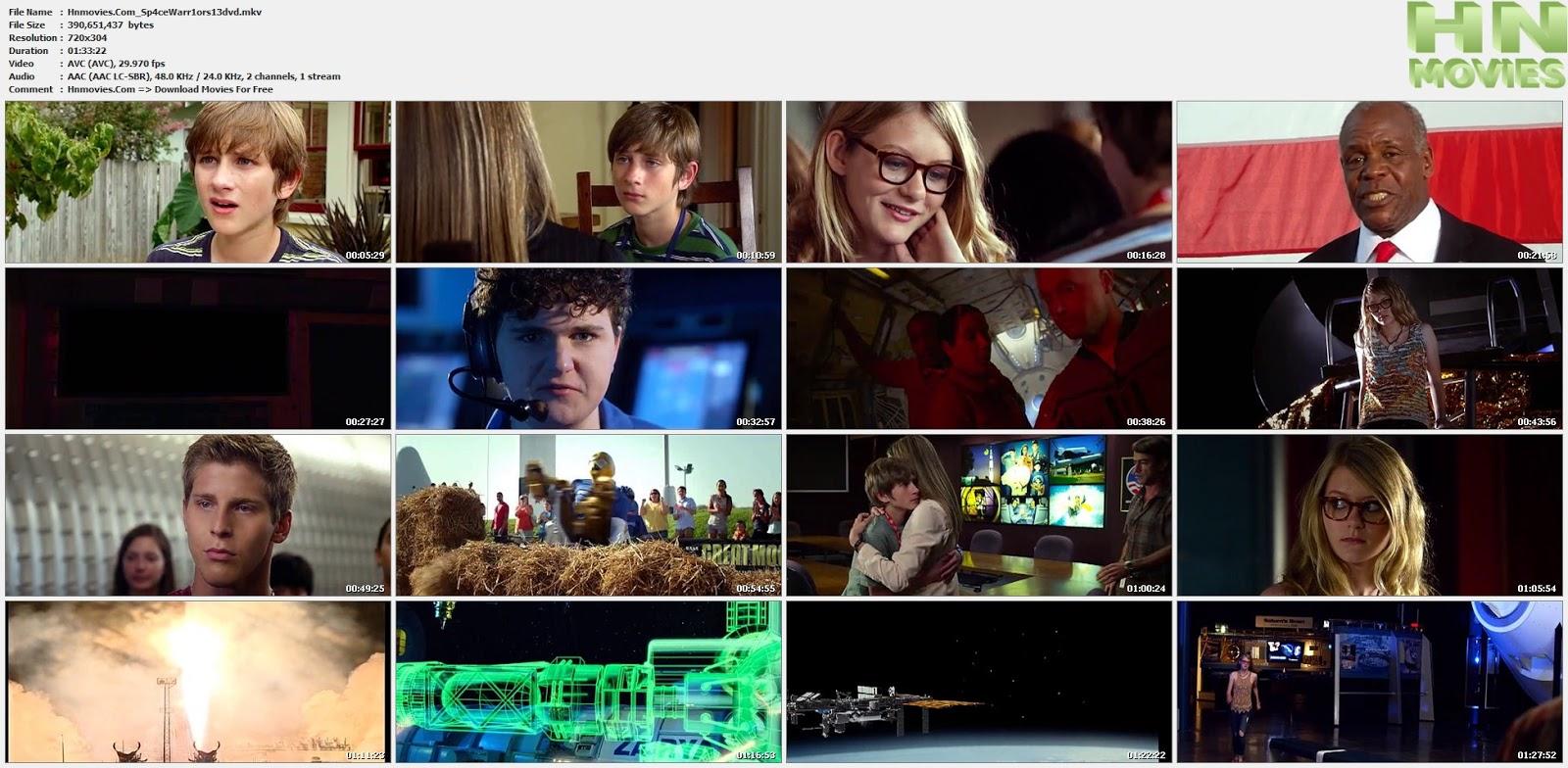 movie screenshot of Space Warriors fdmovie.com