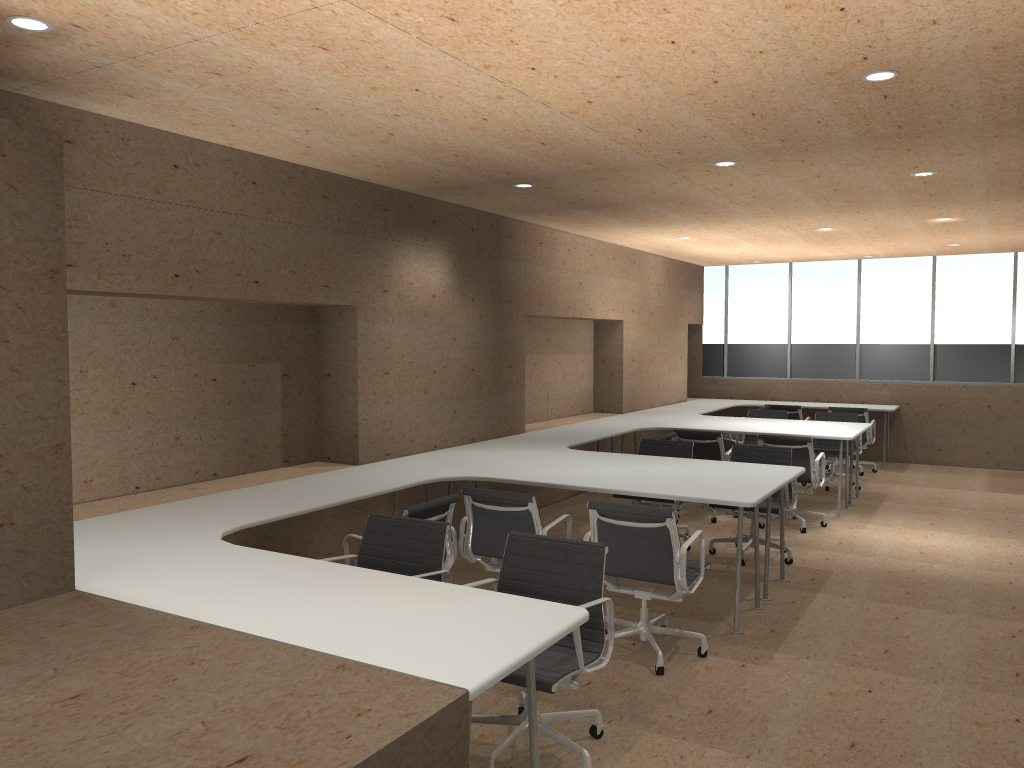 Ing arq javier salinas renders oficinas polanco for Oficinas ing