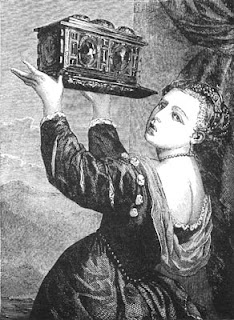 Portrait of Lavinia - Painting by Titian