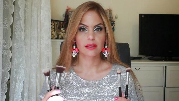 בלוג אופנה Vered'Style סקירת מברשות האיפור של סיגמא בסרטון