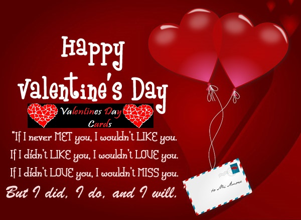Valentines Day Cards – Valentine Day Cards Messages