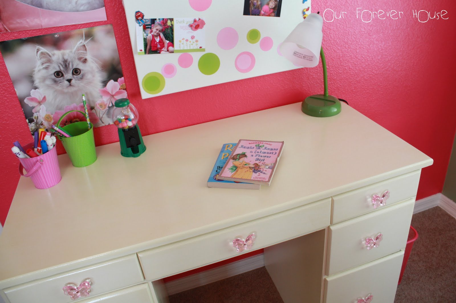our forever house: student desk {girl}